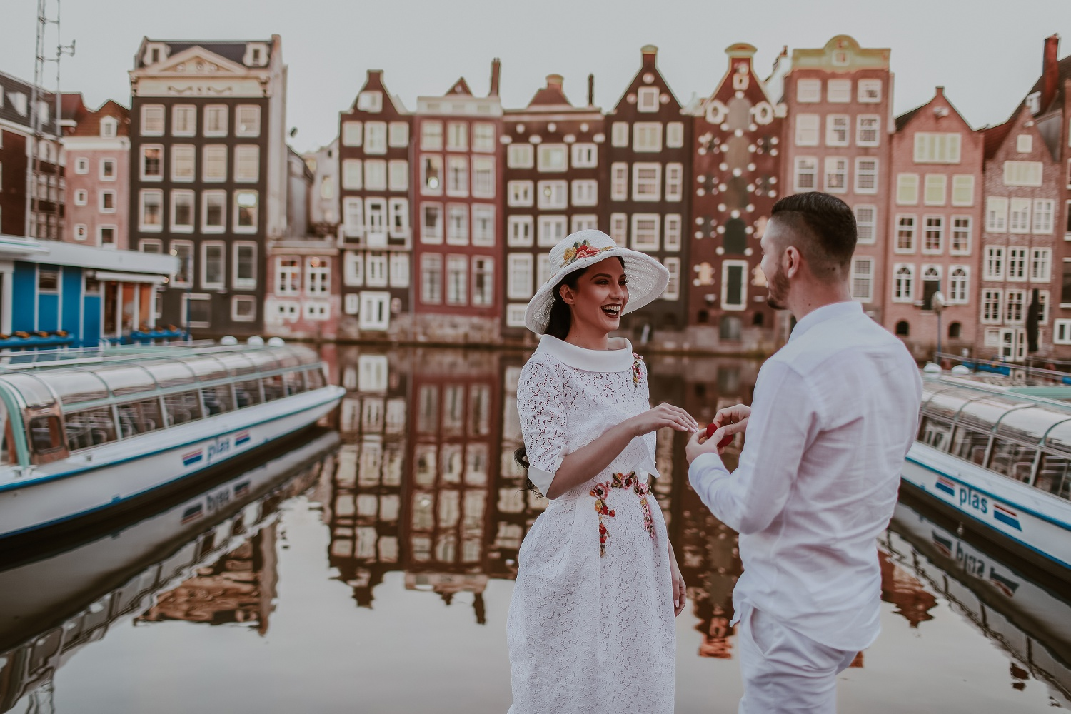 Couple Engagement in Amsterdam