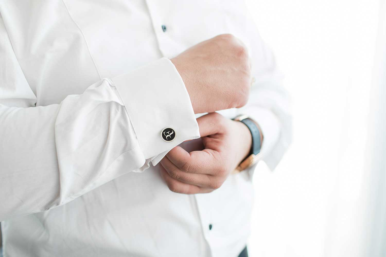 Little details of the tuxedo