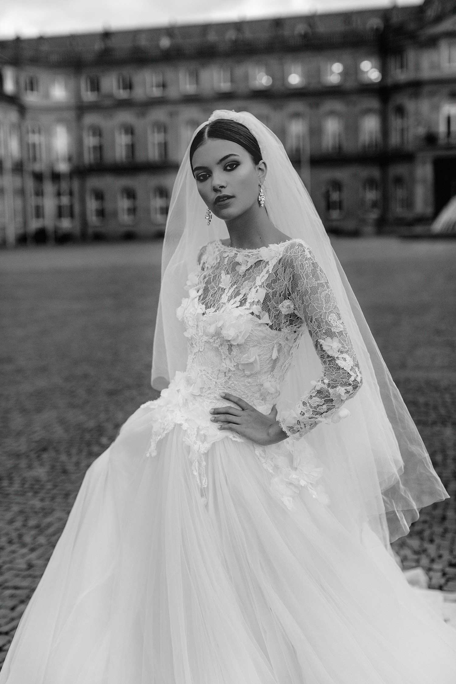Bridal editorial photo in Germany