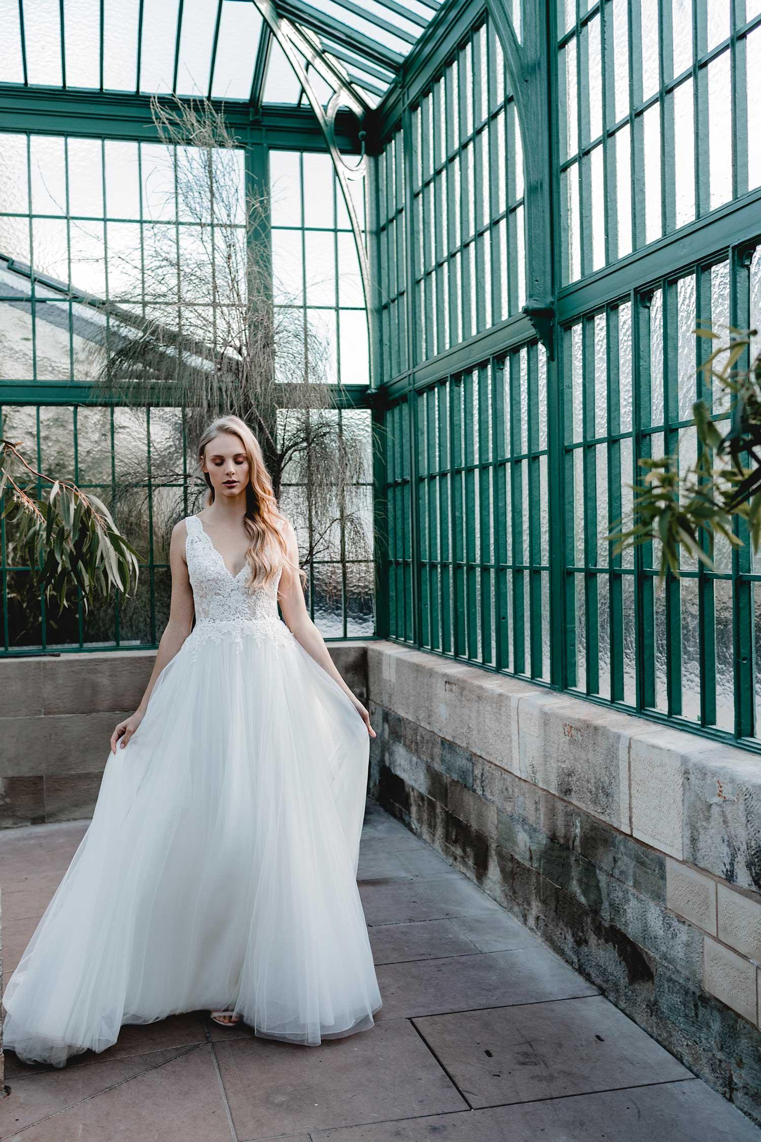 Bridal editorial inspiration in Palmengarten