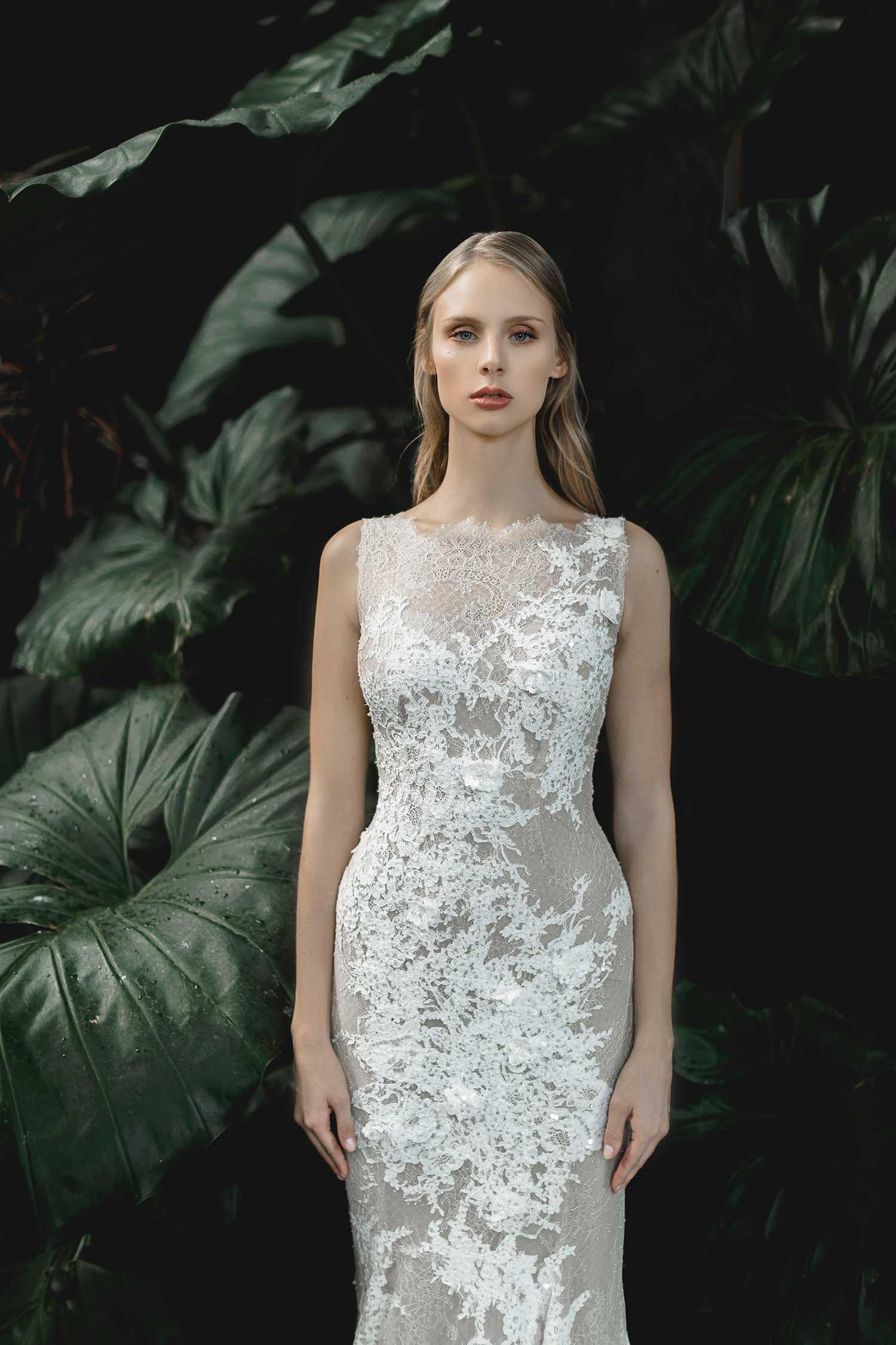 Elegant bridal editorial photoshoot