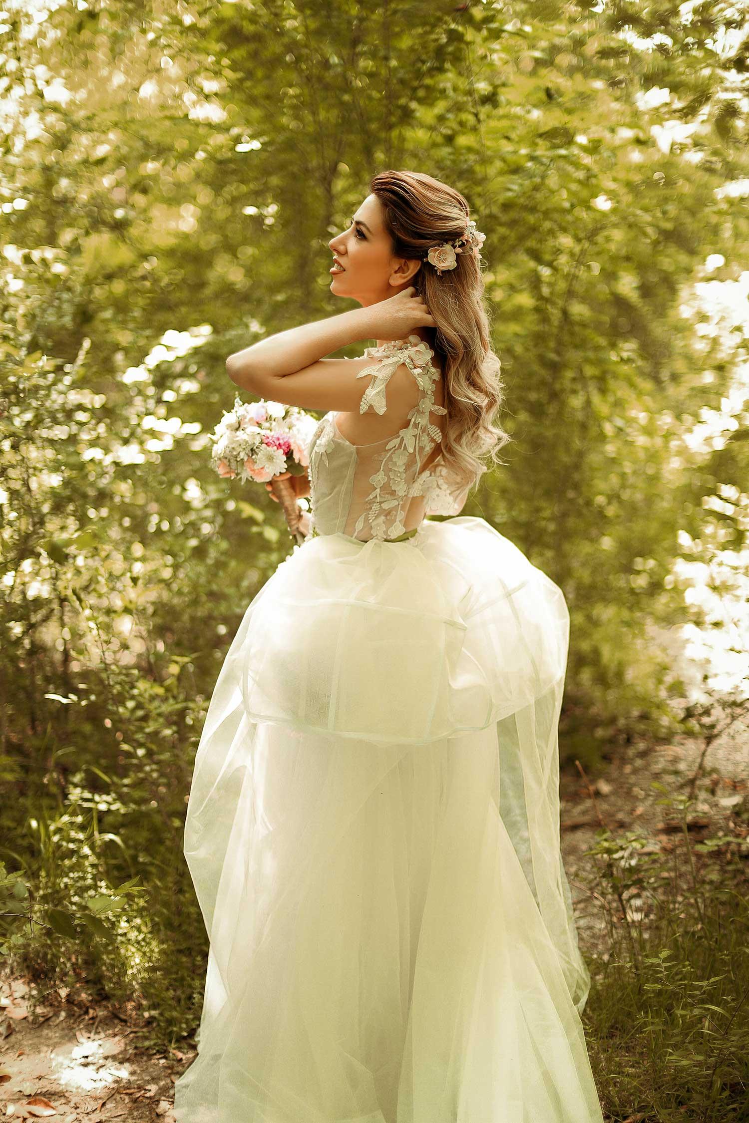 Fairy tale wedding photoshoot