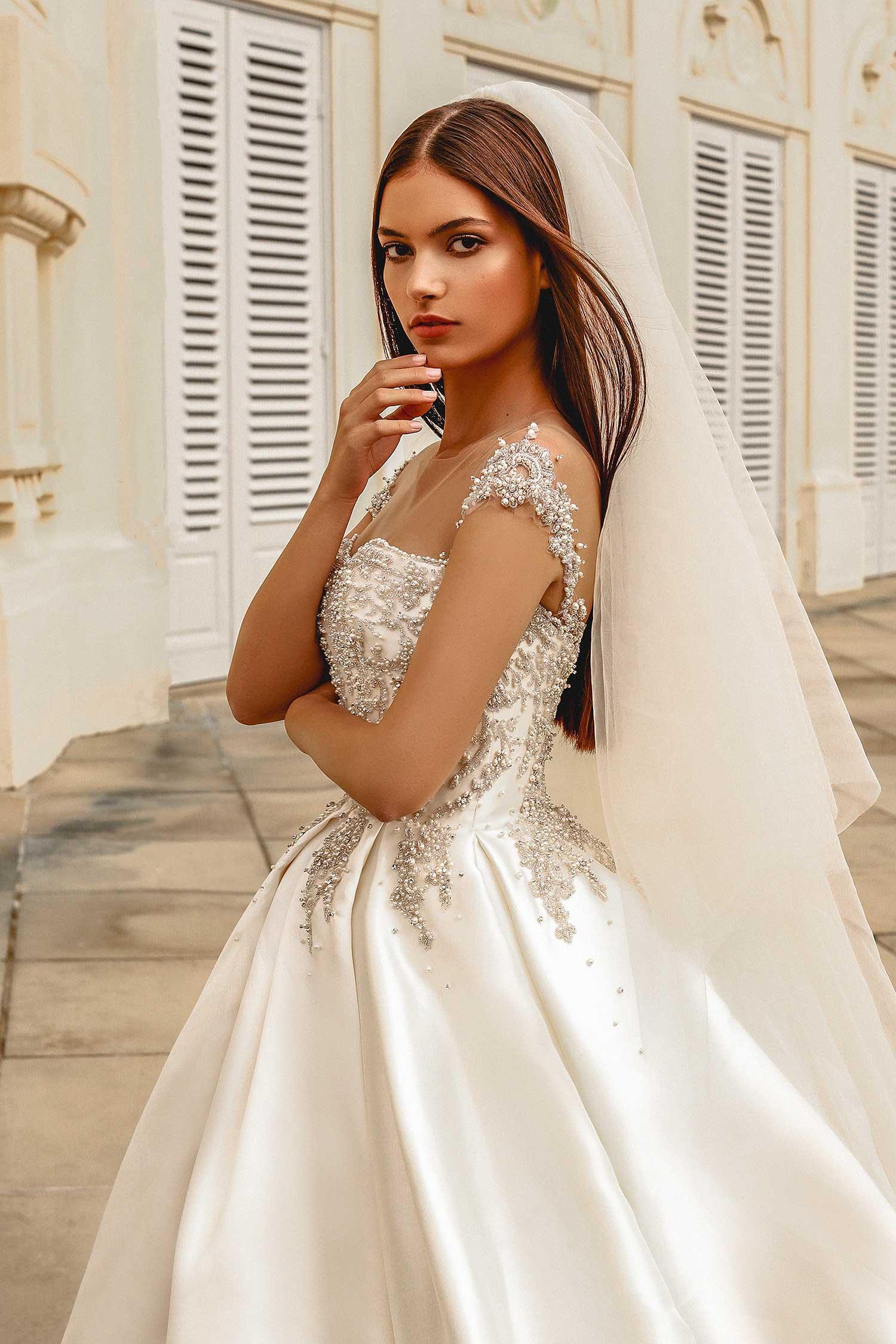 Natural bridal editorial photography