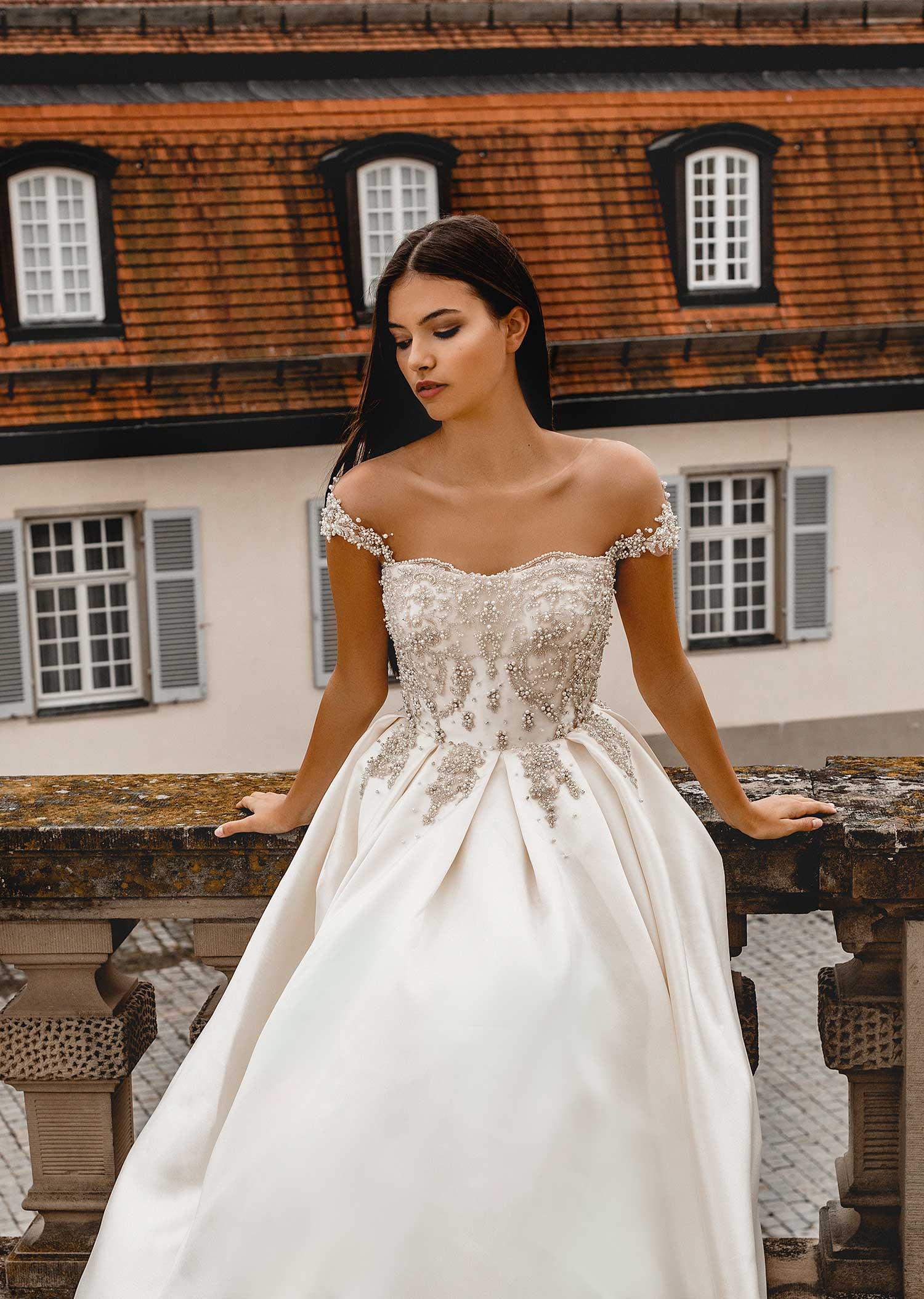 Natural bridal editorial photoshoot