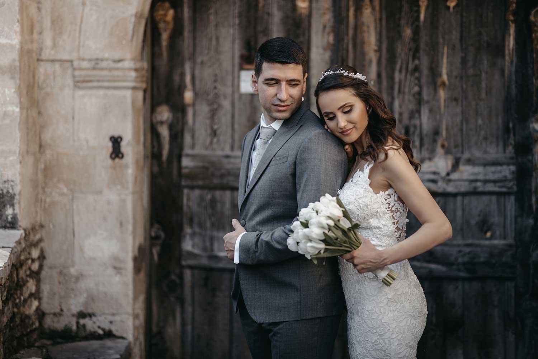 Vintage wedding photos in Gjirokaster