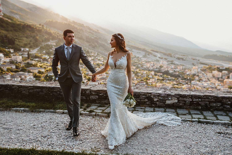 Wedding photos with natural light