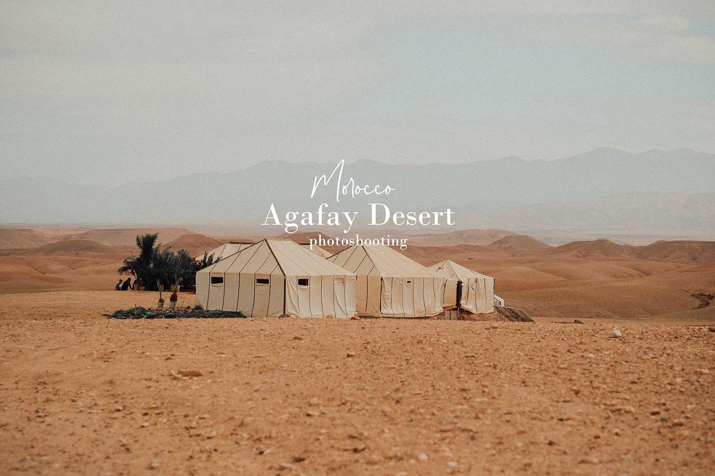 Agafay Desert photoshooting