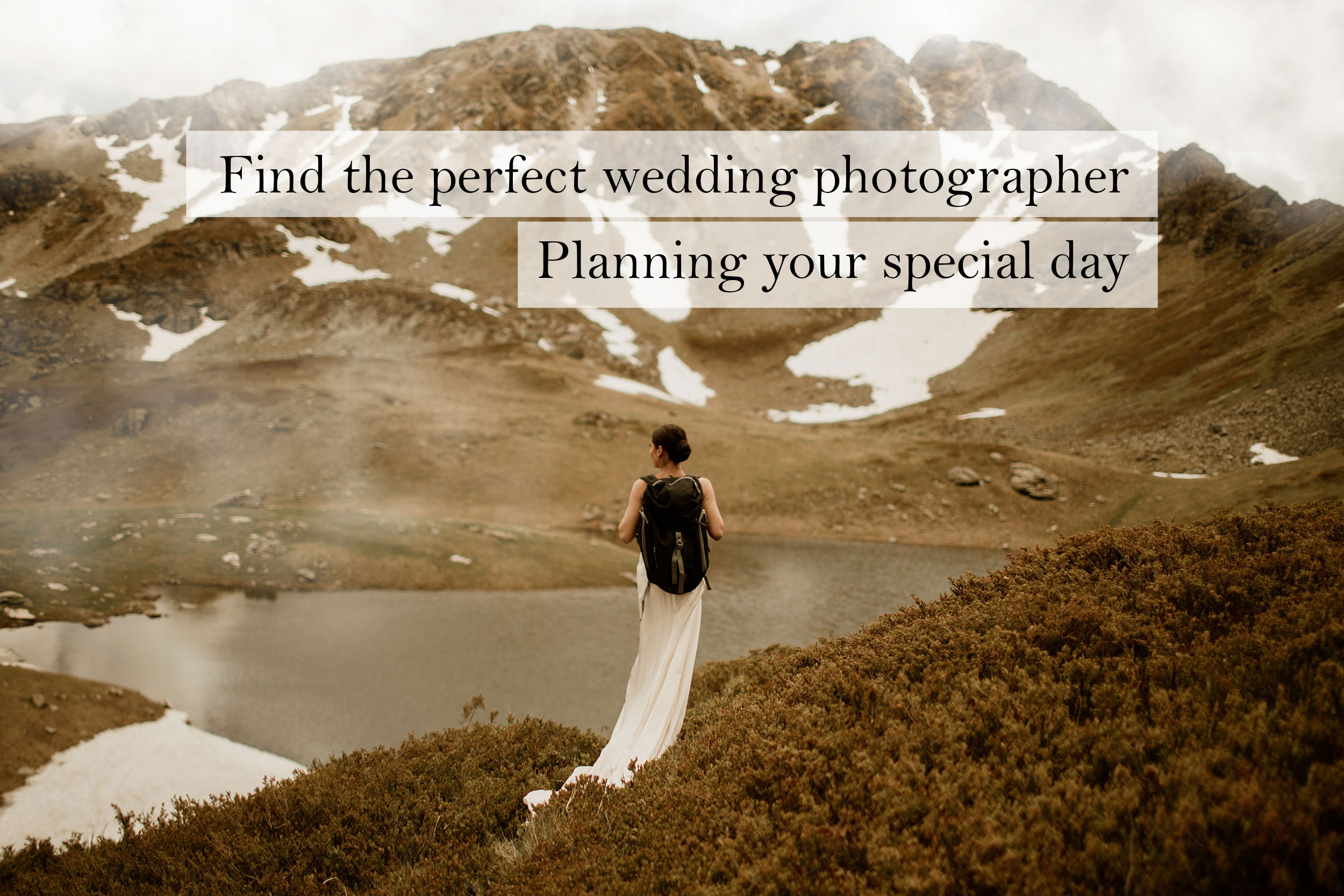 Find the perfect wedding photographer