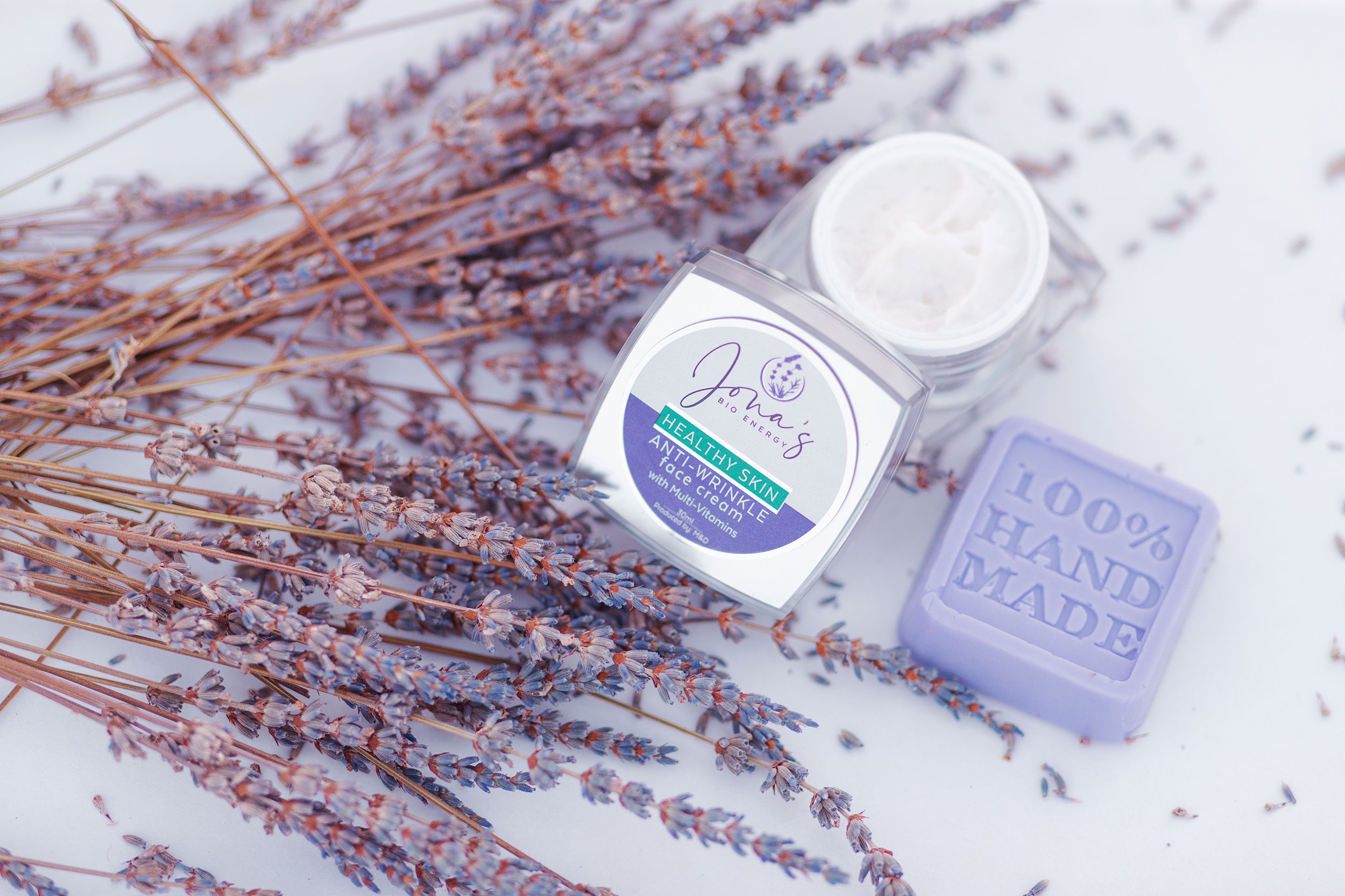 Lavender products photography
