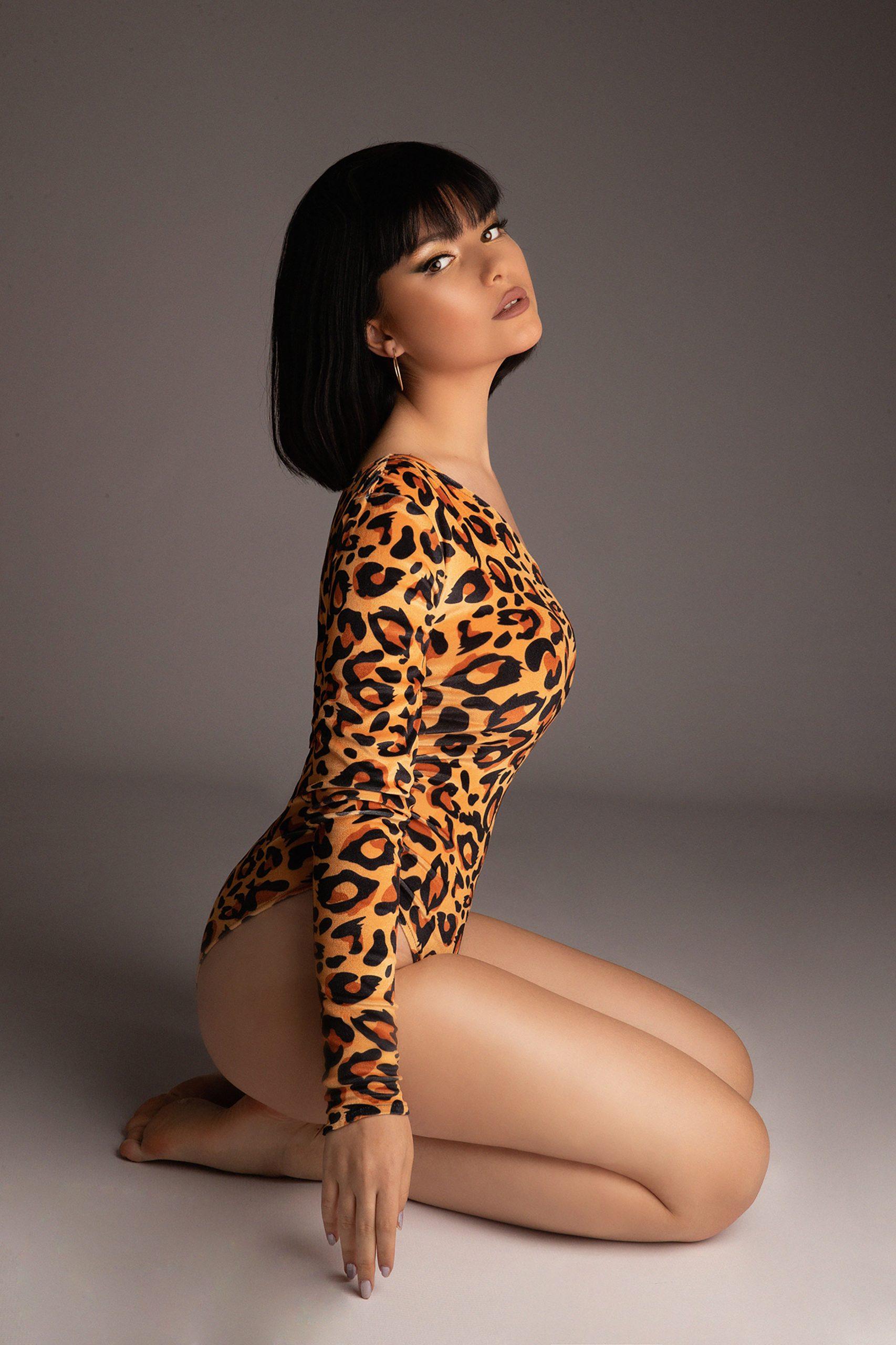 Jungle Humans' Halloween bodysuit