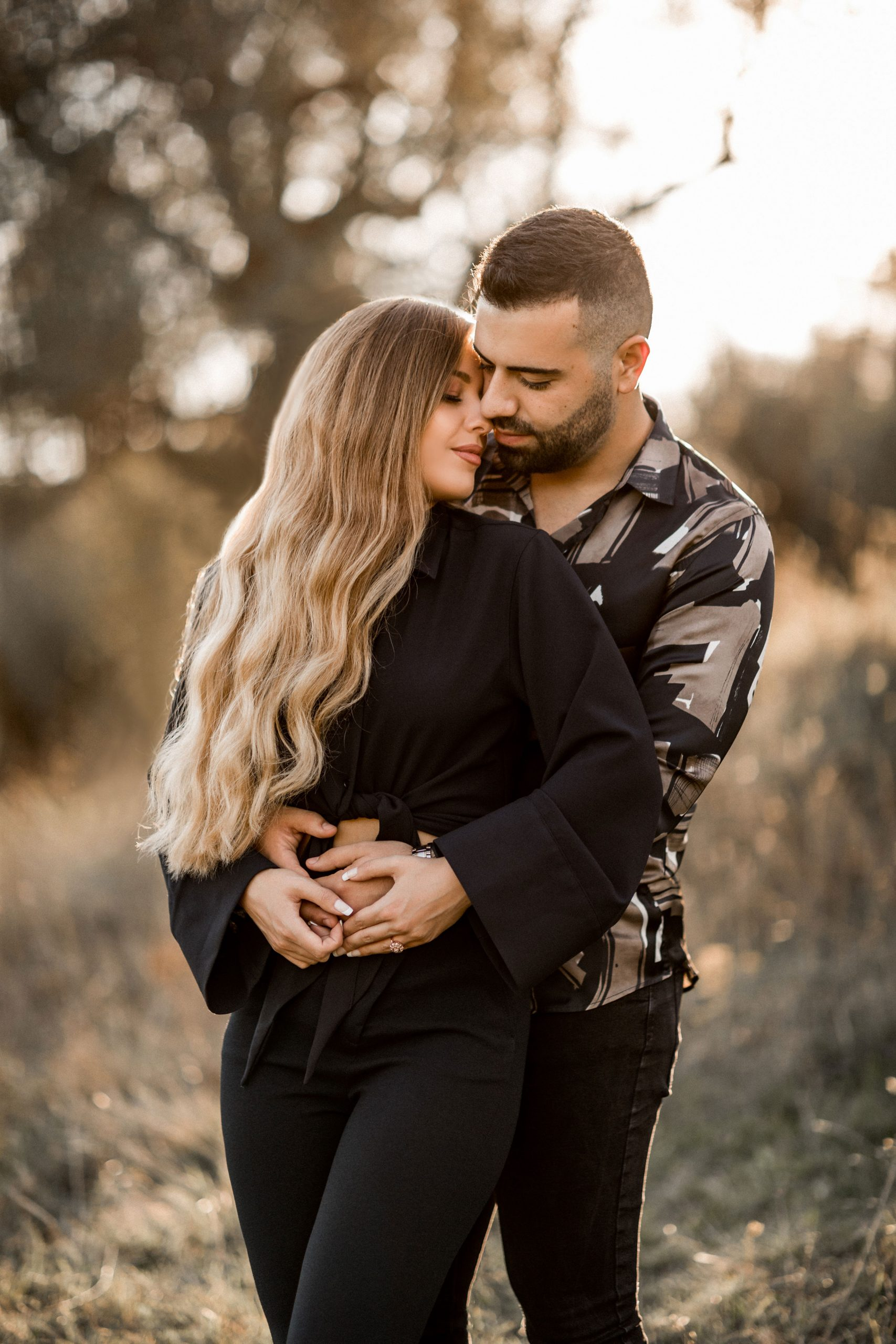 Nature couple's photoshoot