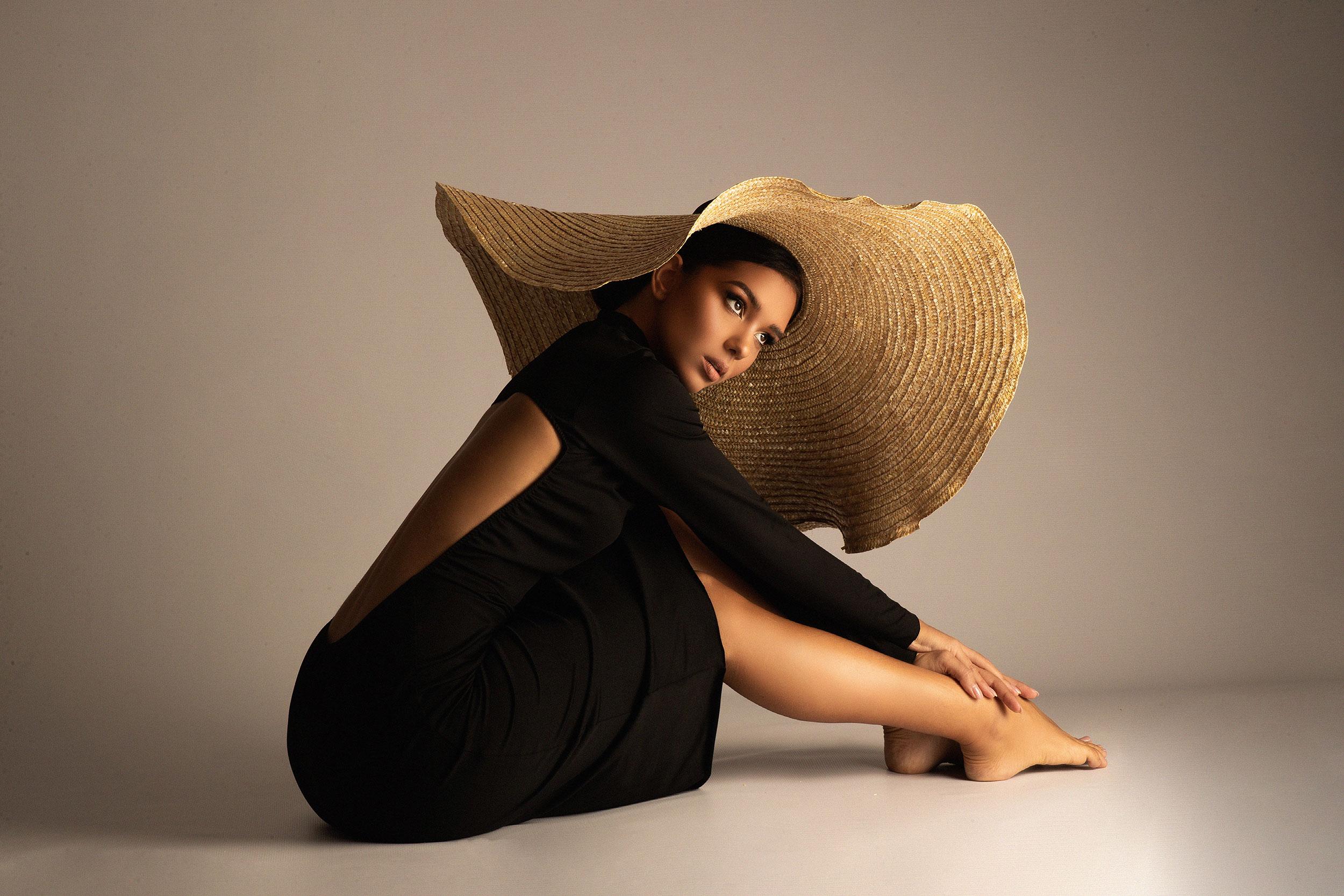Nevina Shtylla wearing a dress by Jungle Humans