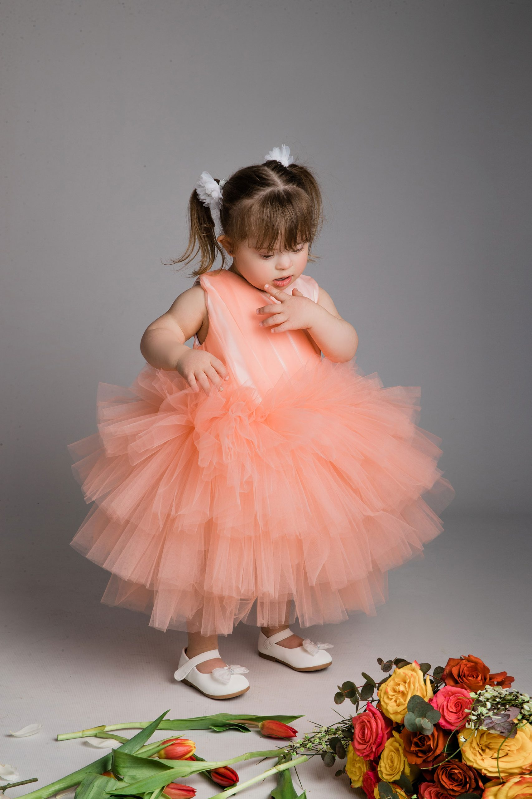 Studio photography with Down Syndrome kids
