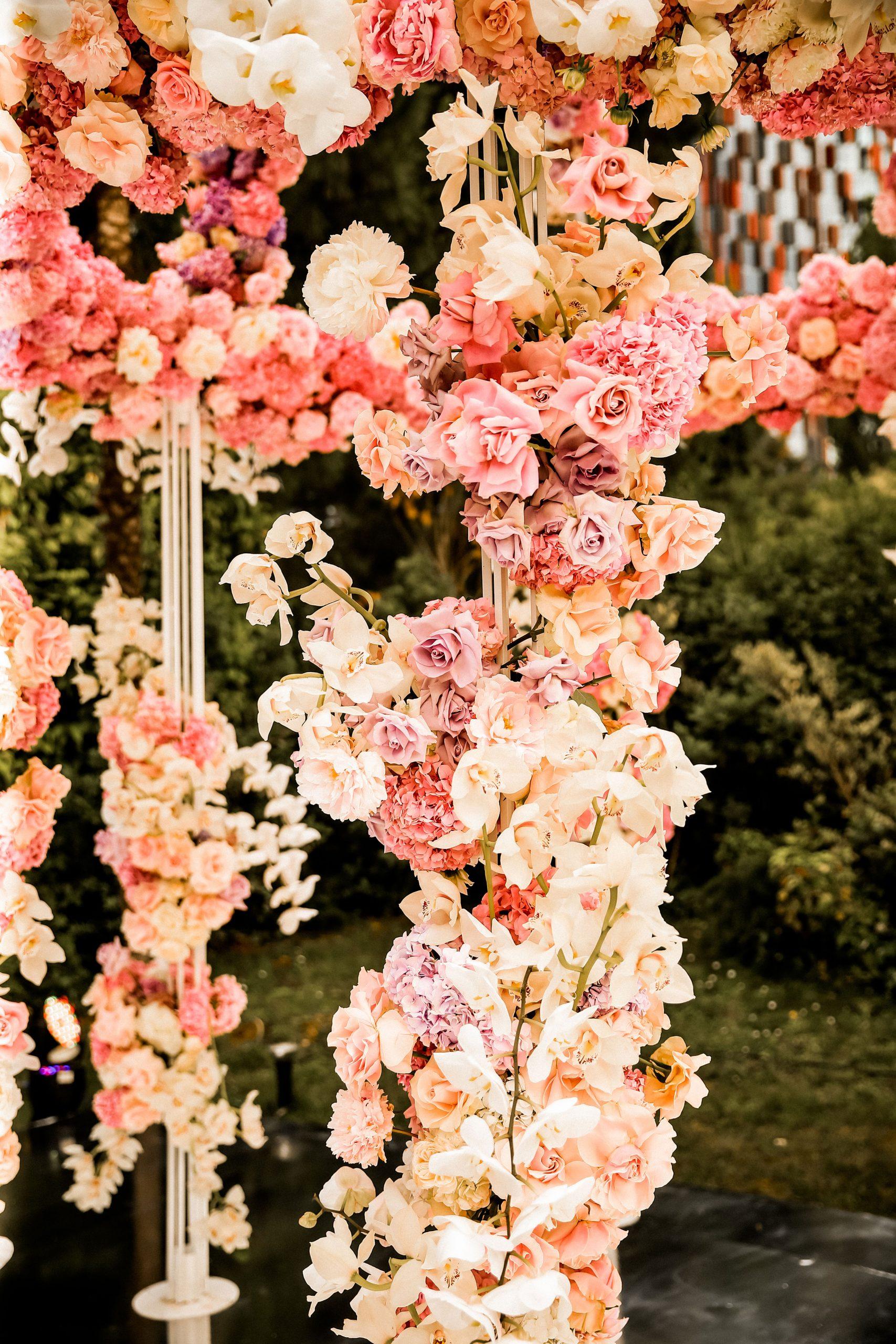 Floral Filled Wedding Decorations