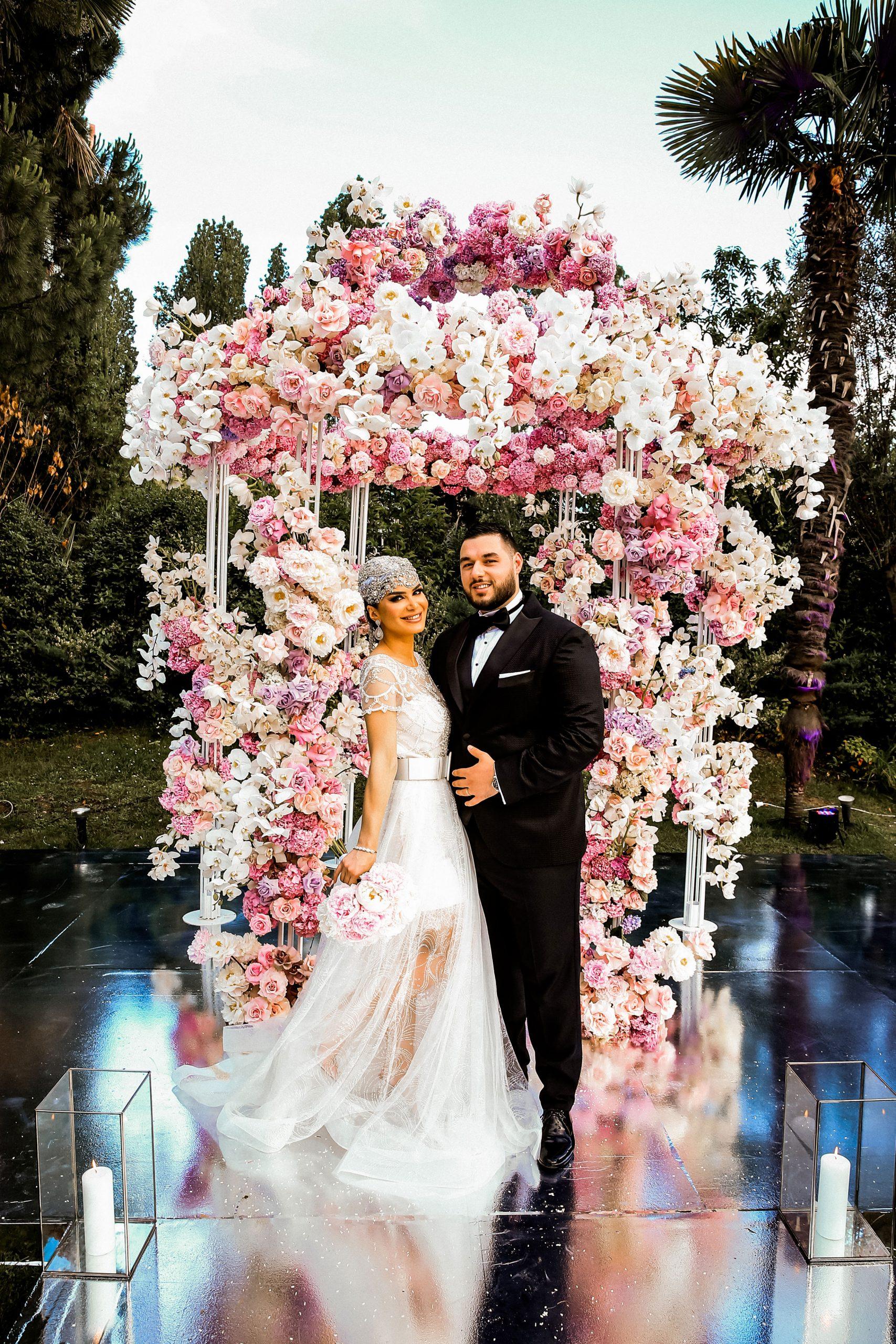 Short tulle wedding dress-Bridal style