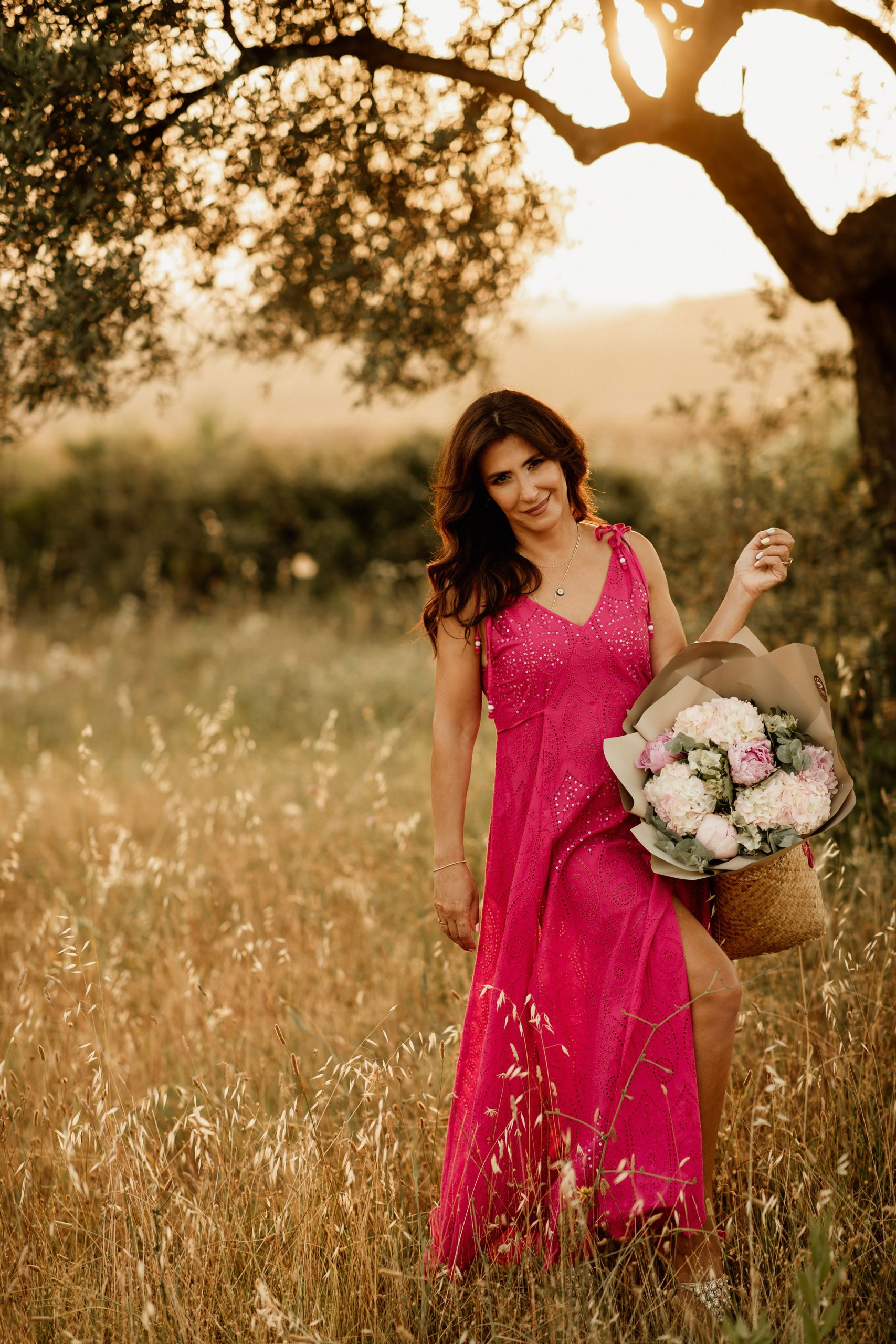 Field photoshoot with Iva Tico