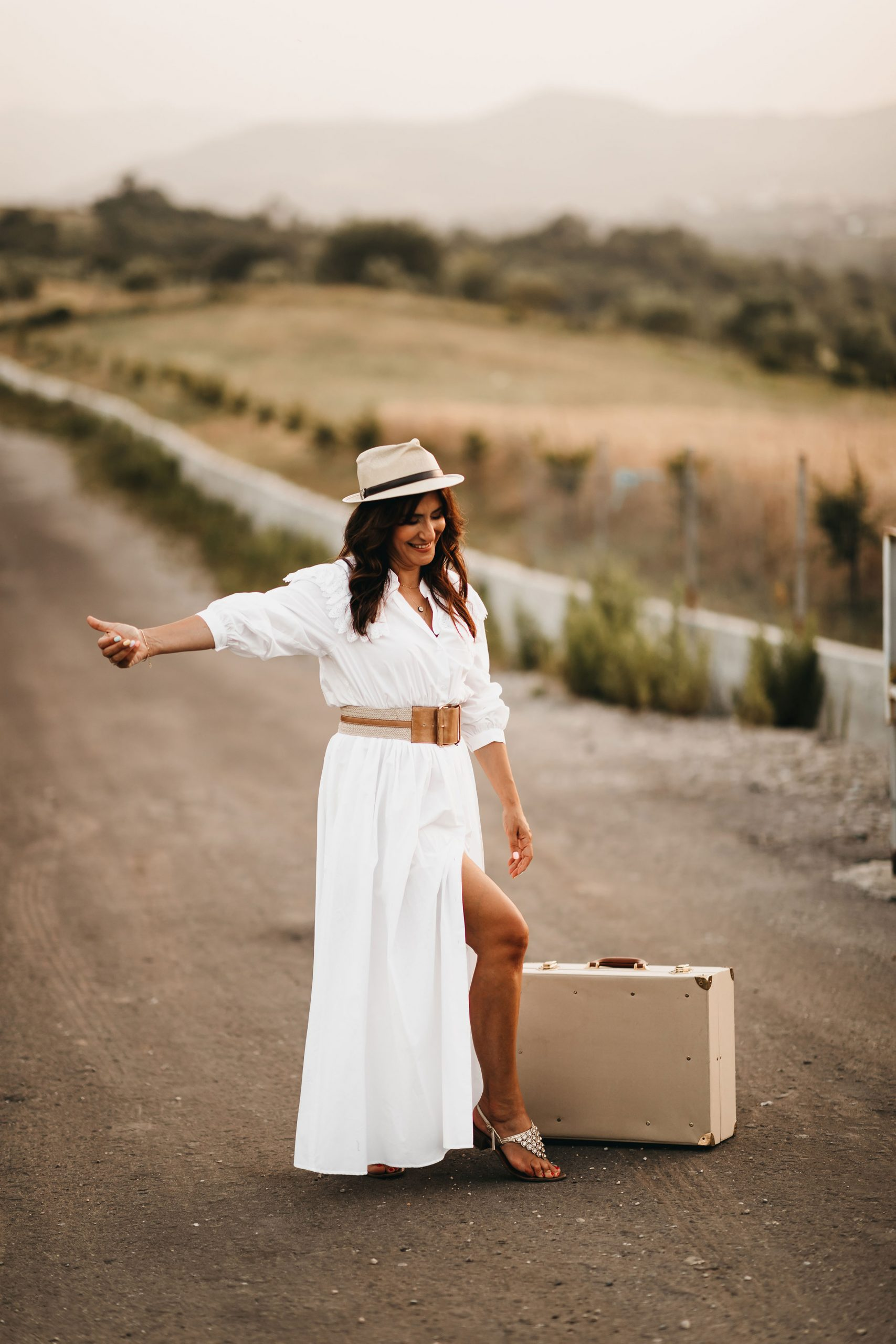 Iva Tico hits the road for the summer nature photoshoot
