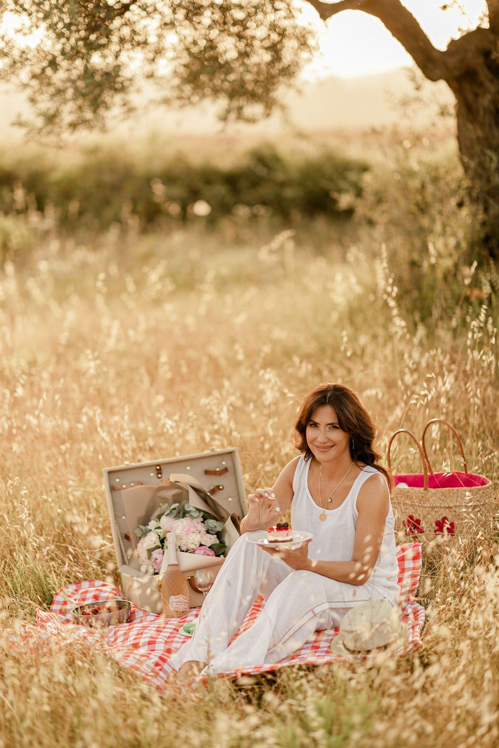 Summer picnic photo session