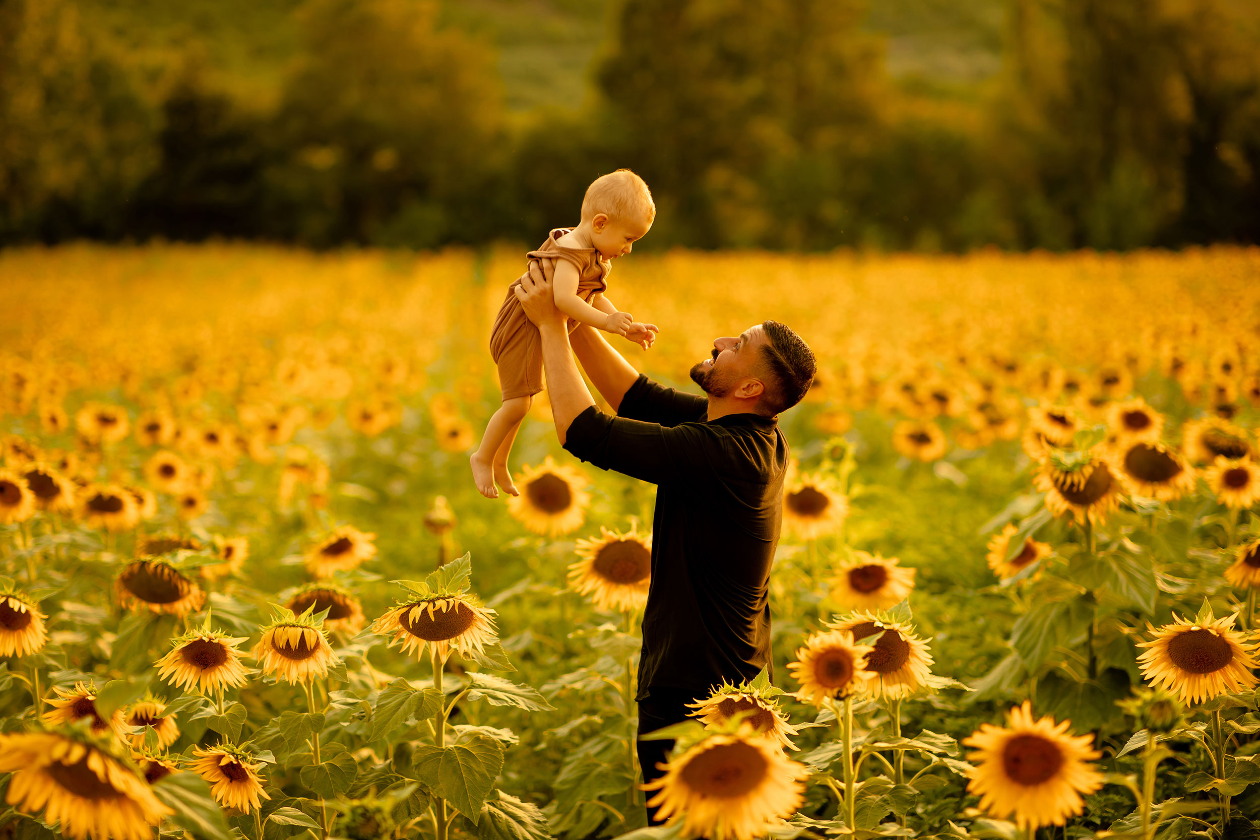 Father and son nature photoshoot