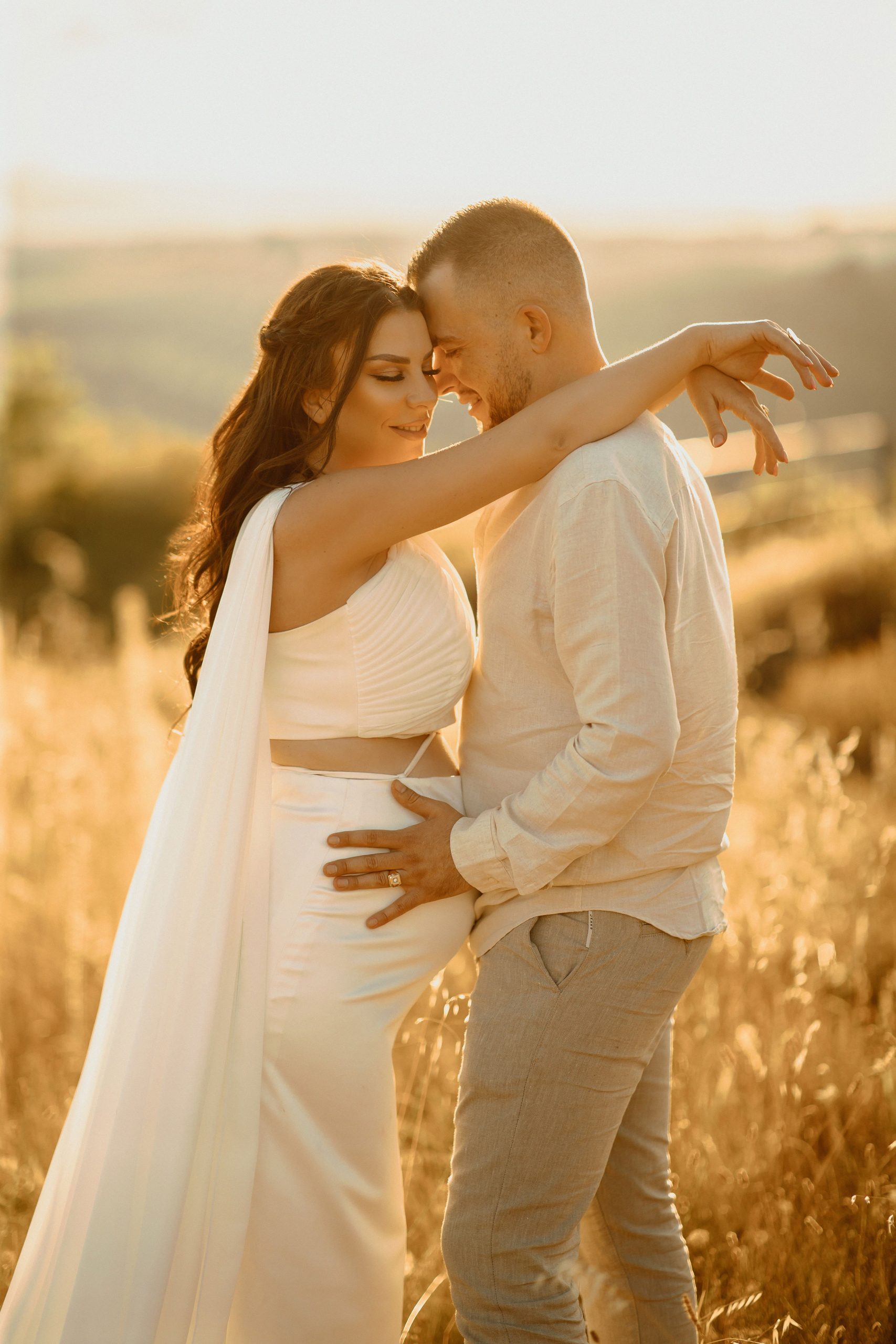 Simple Gender Reveal Photography